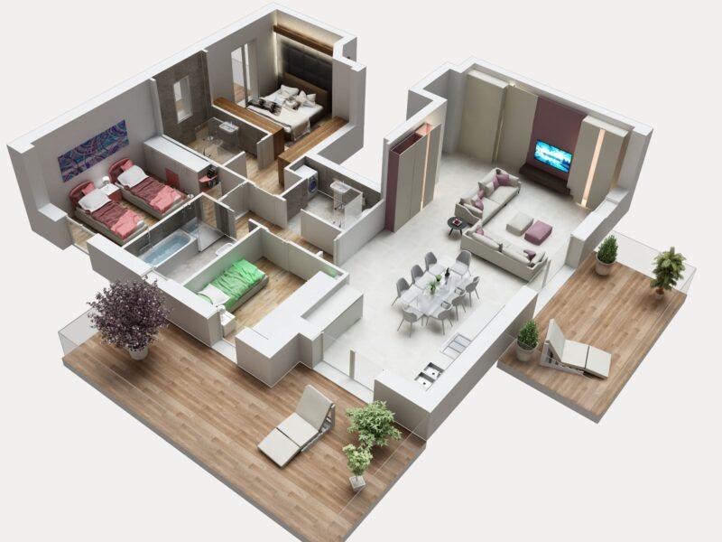 ATTICO 1 - nuovo classe a seriate residenza corte fiorita (7)